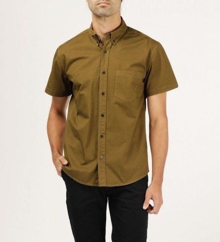 WELCOME STRANGER S/S OD Clean Seam Shirt