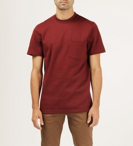 WELCOME STRANGER 8 oz Bison Pocket Tee
