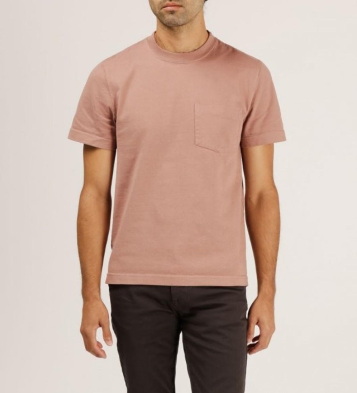 db4ec557ee5 WELCOME STRANGER OD Bison Pocket T-Shirt - Burlwood