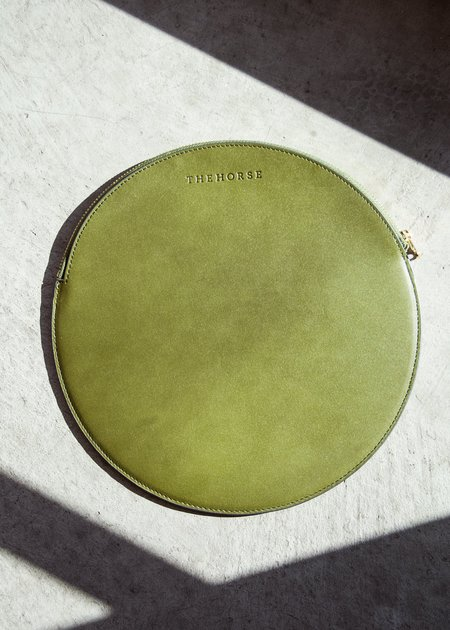 The Horse Moon Clutch - Olive