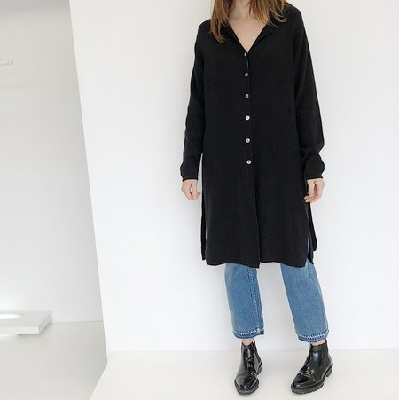 Johan Vintage Black Cardigan Dress