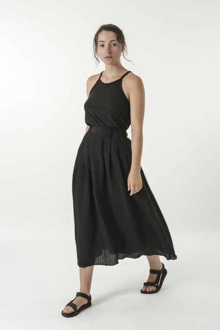Good Studios Hemp Silk Pleat Skirt