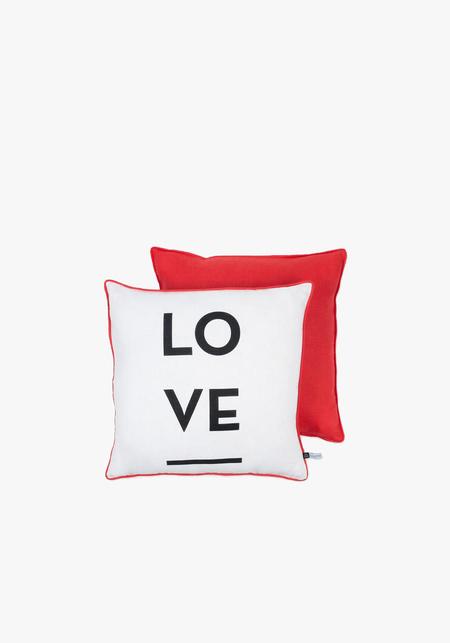 Mona De Castellarnau Large Love Cushion
