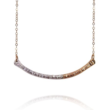 Strut Jewelry Fusion Bar Necklace
