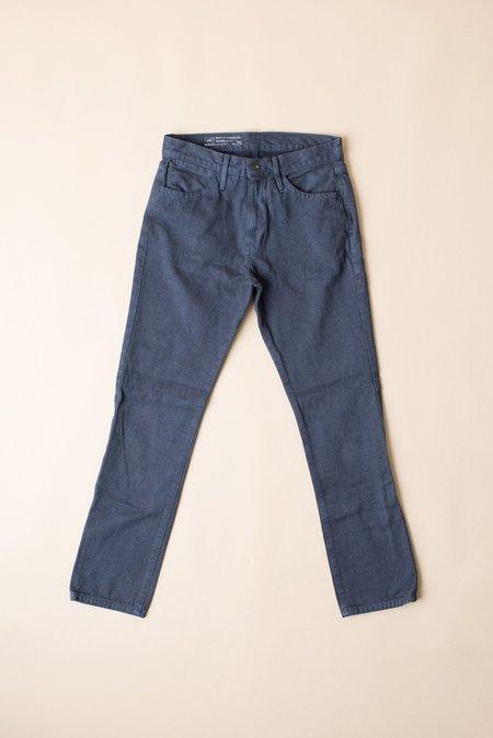 Save Khaki Herringbone Jean In Navy