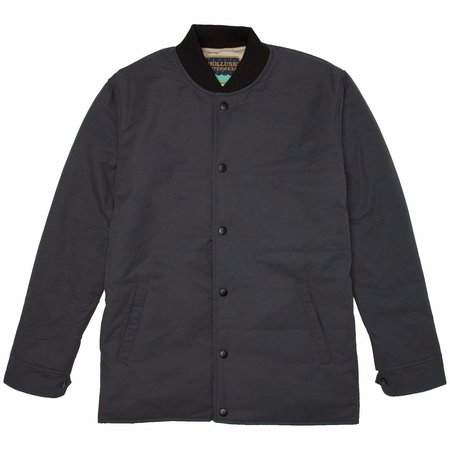 Mollusk Wright Quilted Coaches Jacket