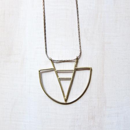 Alchemilla V-hoop Necklace