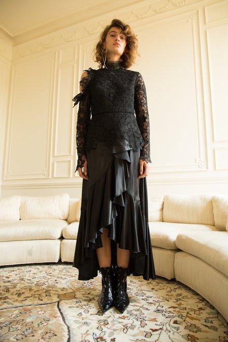 Nika Tang SS18 Pre-Order Ruth Skirt - Black