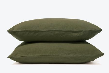 Morrow Soft Goods French Linen  Pillowcase / FERN