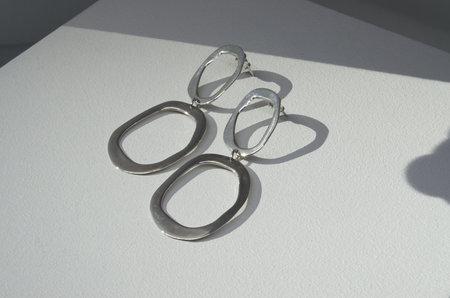 Neal Gleam Earrings - Sterling Silver