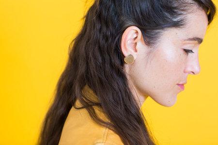 Neal Lilypad Earrings