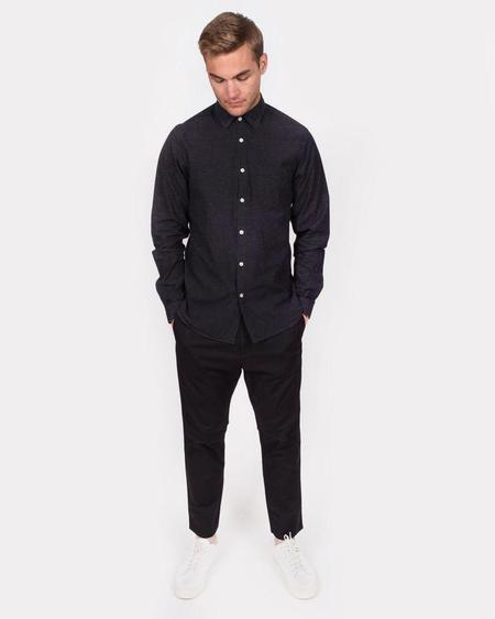 Men's Hope Roy Pocket Shirt - Black Melange