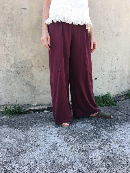 Lois Hazel Wine Drift Pant