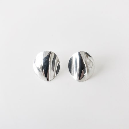 Nia Dana Cora Earrings - Silver