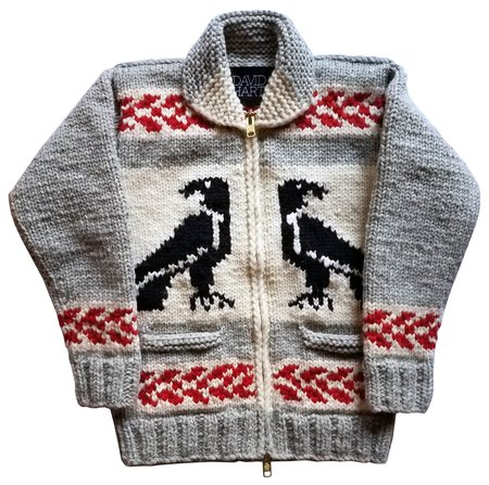 David Hart Eagle Cowichan Sweater