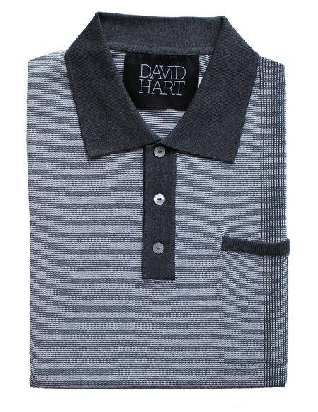David Hart pocket polo - grey