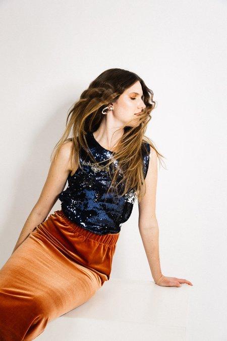 Beth Porch Skirt - Copper Velvet