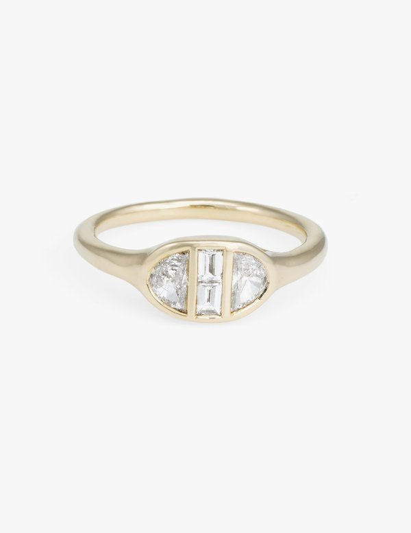 Kathryn Bentley Deco Engagement Ring