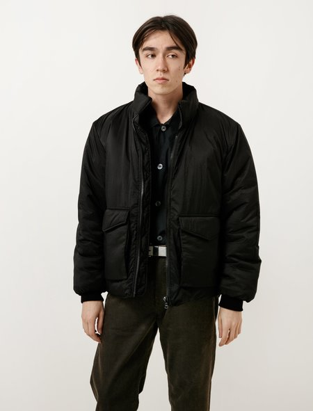 Our Legacy Puffed Funnel Jacket - Black Parachute