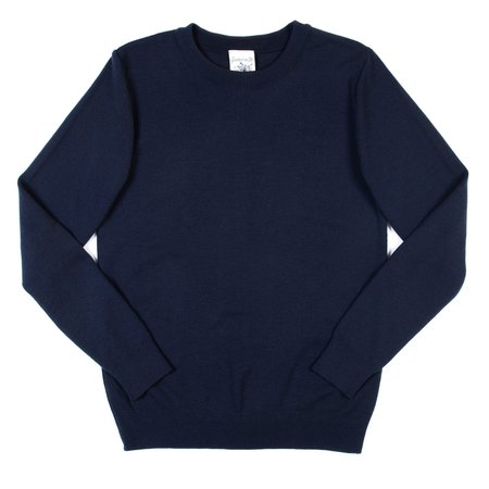 S.N.S. Herning Nimbus Crew Neck—Original Blue