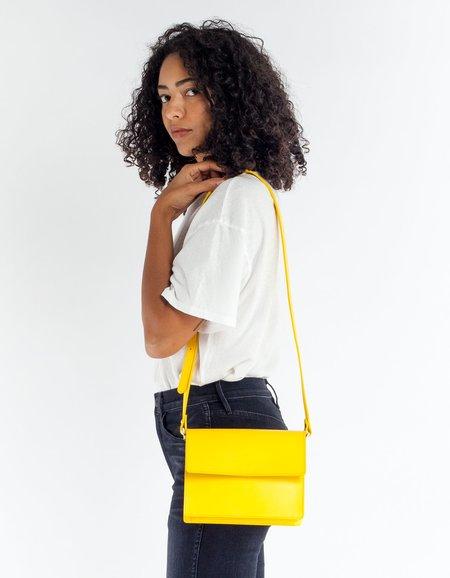 Ganni Gallery Bag - Lemon