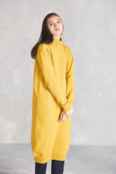 Kowtow Stage Sweater Dress - Yellow