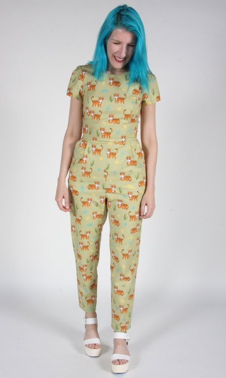 Birds of North America Gyrfalcon Jumpsuit - Tigers