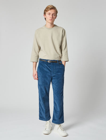 Other Felix Cropped Leg Trouser - Cornflower Blue