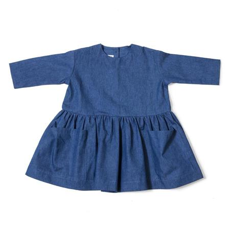 Kids As We Grow Long Sleeve Pocket Dress