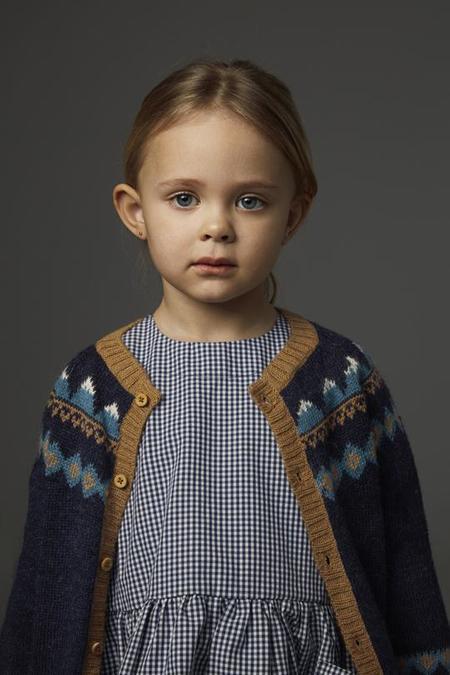 Kids As We Grow Long Sleeve Pocket Dress