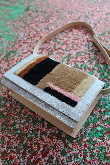 Rachel Comey Pala Shoulder Bag - Beige/White