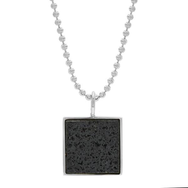 Unisex Tarin Thomas Samuel Necklace - Lava