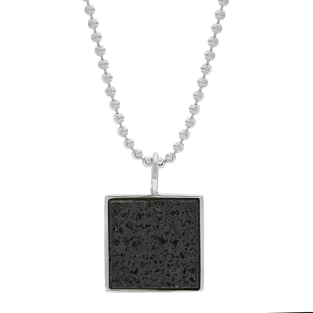 Unisex Tarin Thomas Samuel Necklace - Lava