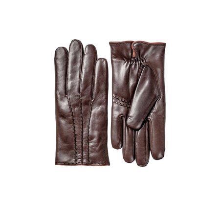 Hestra William Leather Glove - Espresso