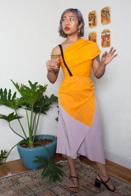 Rachel Comey Amphion Dress - Tangerine