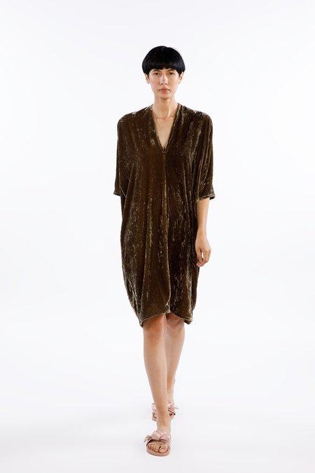 Miranda Bennett Muse Dress - Velvet in Shetland