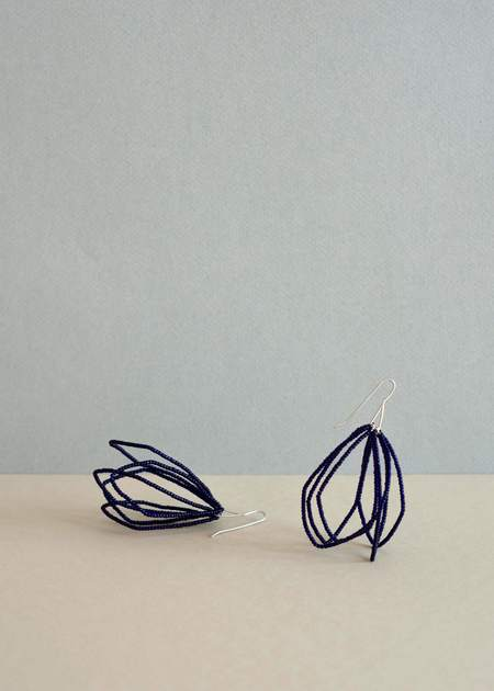 Zelda Murray Beaded Flower Earrings