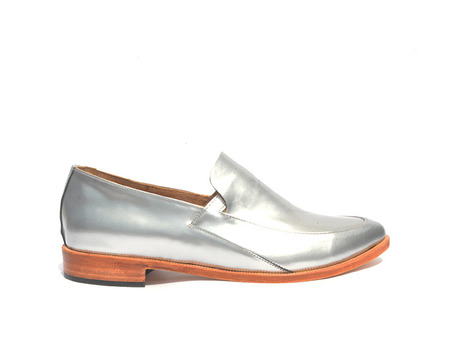 ZOU XOU Loafer in Reflector Instant Ship