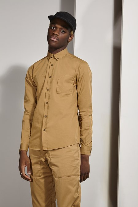Basus SHIRT SWITCH - CAMEL