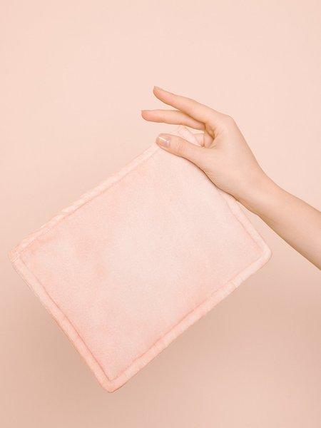 Audrey Louise Reynolds Large Velvet Zip Pouch
