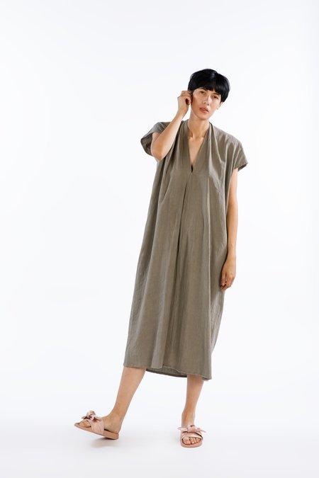 Miranda Bennett Everyday Dress Oversized Cotton in Cork