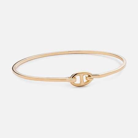 Miansai Circle Link Cuff - Gold Vermeil