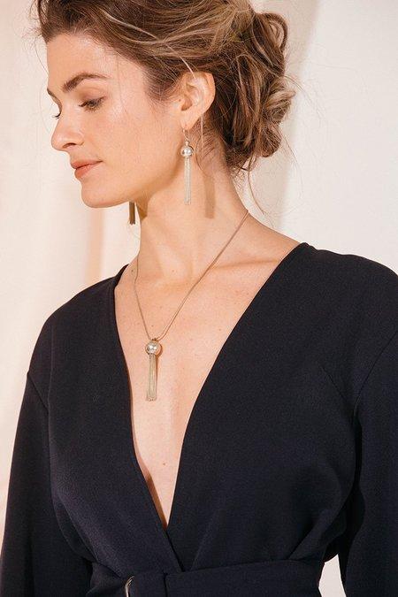 Young Frankk Large tassel earrings