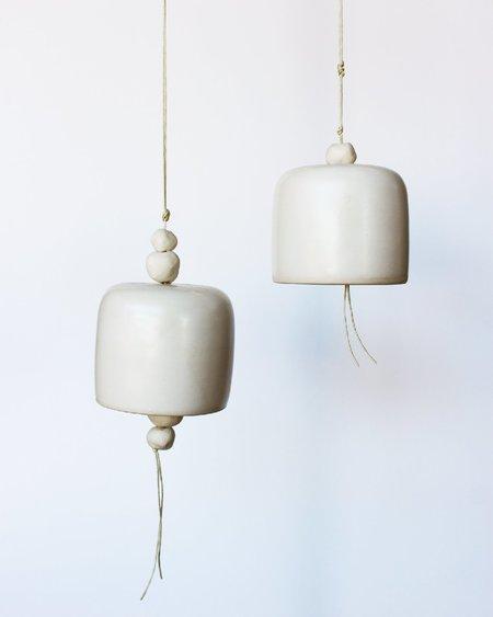 Notary Ceramics Small Bell - Satin White