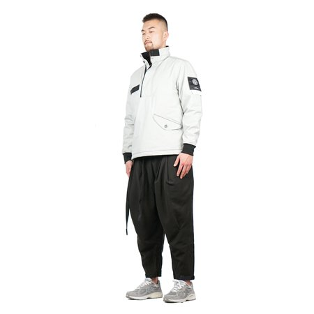 Stone Island Ice Jacket SI Check Grid Camo - Steel Gray