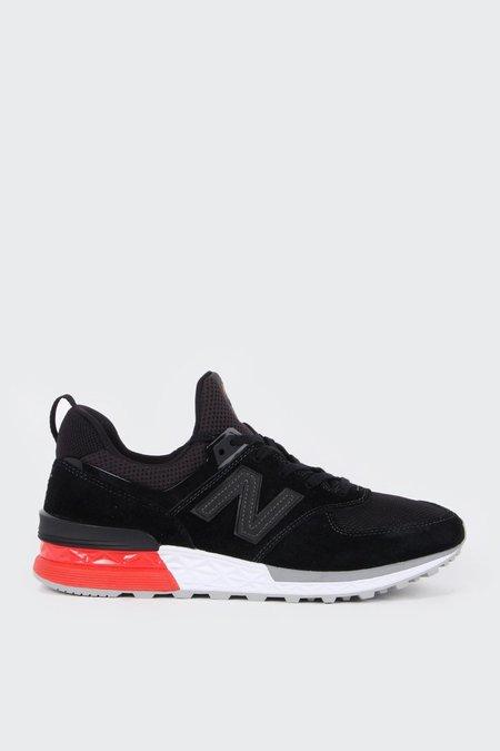 New Balance 574 Sport - black/white/grey