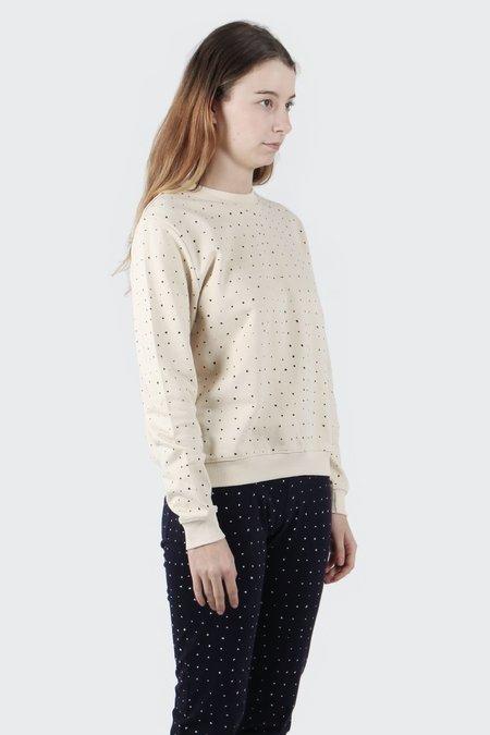 Kowtow Building Block Dot Sweater - Cream