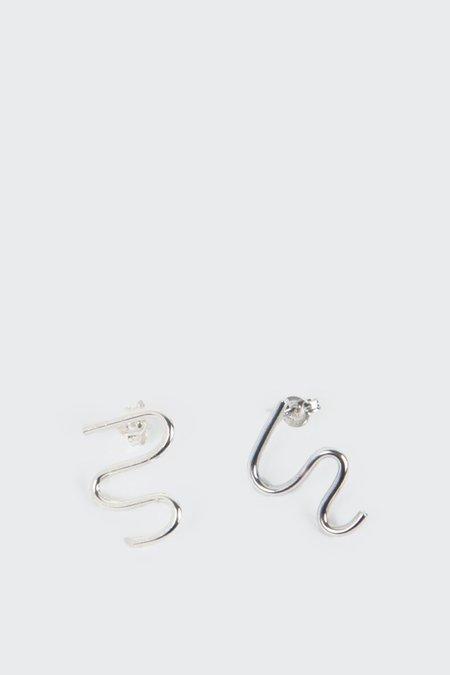 27mollys Dome Earrings - Silver