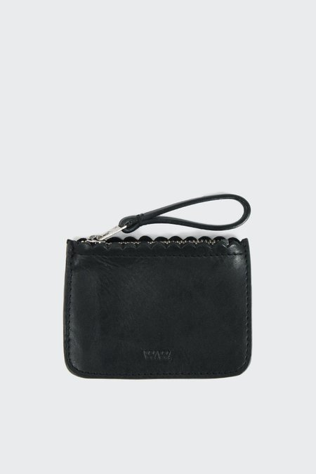 Wood Wood Ines XS Zip Wallet - black