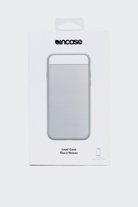 Incase Level Case iPhone 7 - white metallic